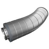 Гибкие шумоглушители для круглых воздуховодов